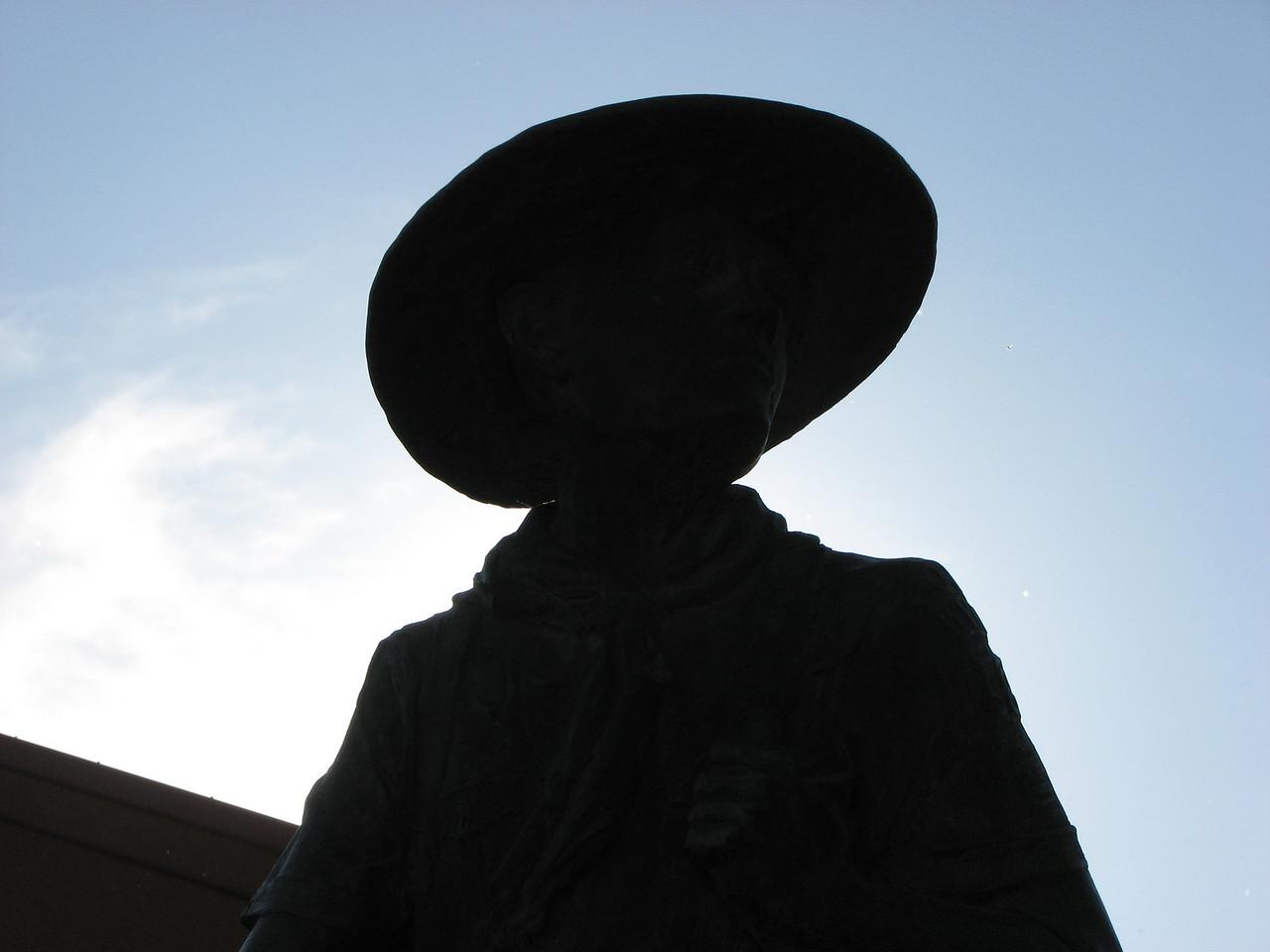 Statue at Base Camp